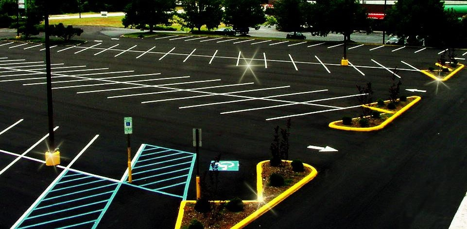 Parking lot striping Birmingham